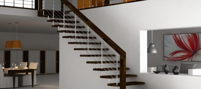 Лестница в частном доме (виды лестниц)